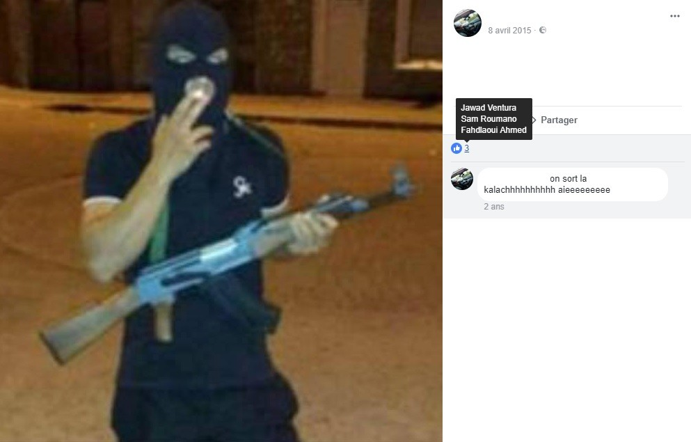 Musculation, groupe djihadiste et ONG pour la Syrie : que révèle le Facebook de Jawad Bendaoud ?