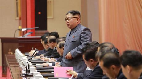 «Le bouton nucléaire ici sur mon bureau» : pour ses bons vœux, Kim Jong-Un met en garde Washington