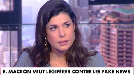 Charlotte d'Ornellas, journaliste à Valeurs Actuelles sur CNEWS.