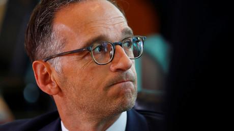 Le ministre allemand de la Justice Heiko Maas, photo ©Hannibal Hanschke/Reuters