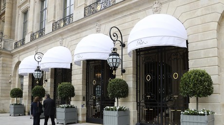 L'hôtel Ritz à Paris (illustration)