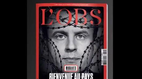 La Une du magazine L'Obs du 11 janvier.