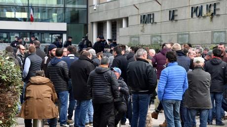 Des viticulteurs en colère à Montpellier