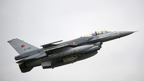 Un avion de guerre turc