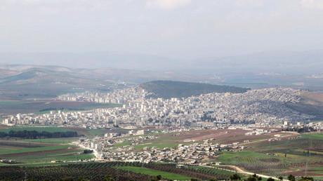 La ville d'Afrin dans le Nord de la Syrie