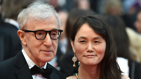 Woody Allen aux côtés de son épouse Soon-Yi, photo d'archive