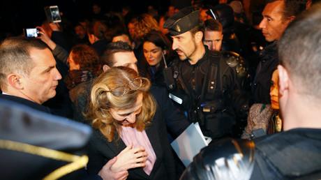 Nicole Belloubet chahutée lors de sa venue à la prison de Borgo, le 19 janvier