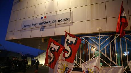 Les syndicats attendaient le Garde des sceaux de pied ferme le 19 janvier à Borgo, pour sa visite en Corse