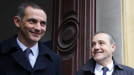Gilles Simeoni et Jean Guy Talamoni