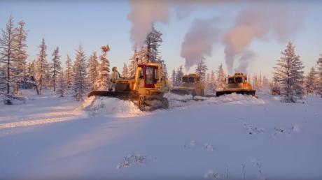 Comment ouvrir une route en Sibérie ?