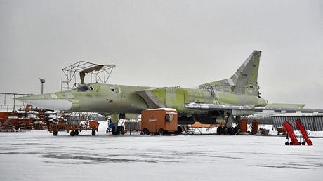 La version modernisée du Tu-160 à l'aérodrome de Gorbunov à Kazan