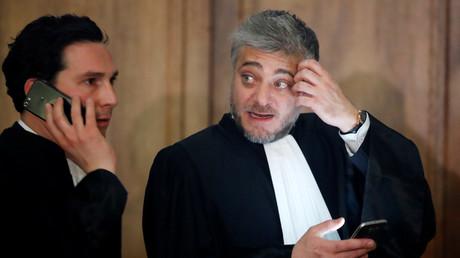 Xavier Nogueras (à droite), avocat de Jawad Bendaoud