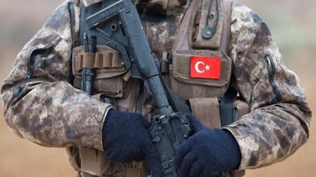 Un militaire des forces spéciales turques