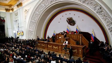 Session extraordinaire de l'Assemblée nationale constituante du Venezuela, le 15 janvier 2018 (image d'illustration)