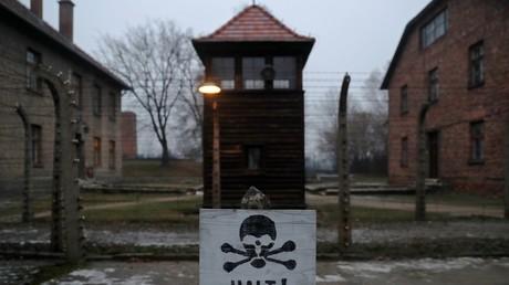 L'ancien camp de concentration et d'extermination camp Auschwitz, en Pologne