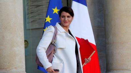 Marlène Schiappa, secrétaire d'Etat chargée de l'Egalité entre les femmes et les hommes.