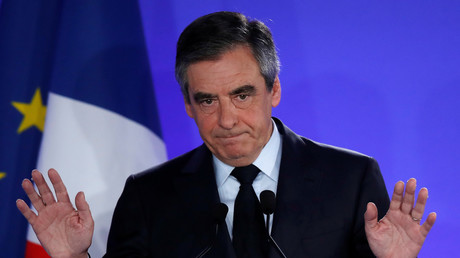 François Fillon en avril 2017