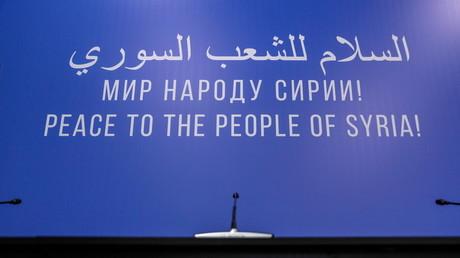 Congrès du dialogue national syrien à Sotchi : une Commission constituante créée
