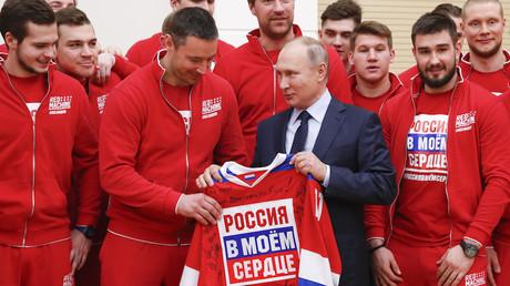 JO de Pyeongchang : Poutine s'excuse de ne pas avoir réussi à «protéger» les athlètes russes