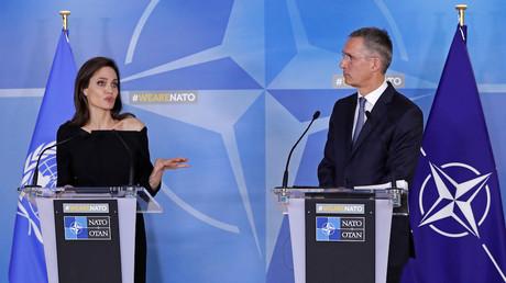 Angelina Jolie va collaborer avec l'OTAN pour lutter contre les viols en zone de guerre