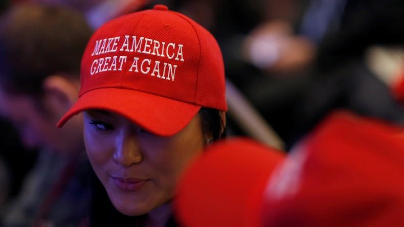 Un Américain sur deux approuve la politique de Donald Trump – plus que pour Obama à la même période
