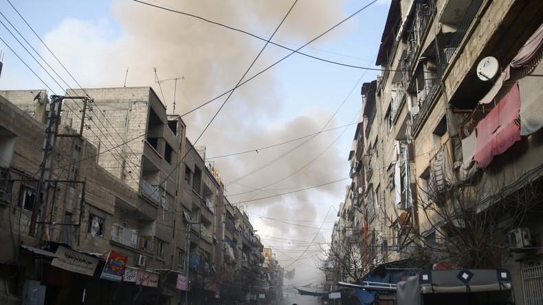 Ghouta orientale : l'ONU confirme la reprise des combats malgré la trêve humanitaire