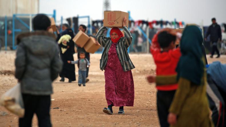 Sexe contre nourriture : des employés humanitaires accusés d'abus envers des Syriennes