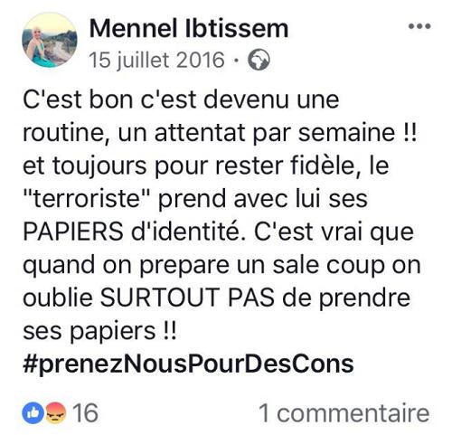 Une candidate de The Voice au cœur de la tourmente pour des propos  sur les attentats en France