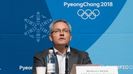 Matthieu Reeb, le secrétaire général du TAS, le 1er février