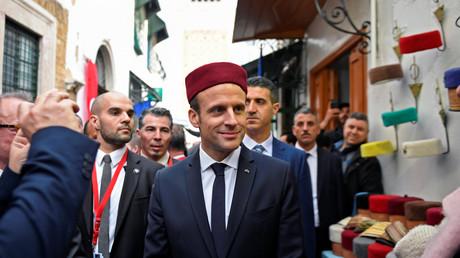 Emmanuel Macron en visite d'Etat en Tunisie