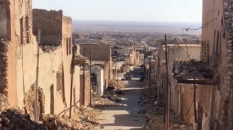 Quartier de la ville irakienne de Mossoul.