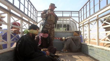 4 000 djihadistes de Daesh, dont des étrangers, seraient détenus par les forces kurdes en Irak