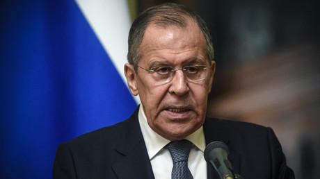 Le ministre russe des Affaires Etrangères, Sergueï Lavrov