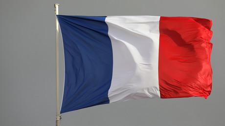 Drapeau français.