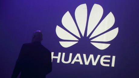 Logo de la société chinoise Huawei