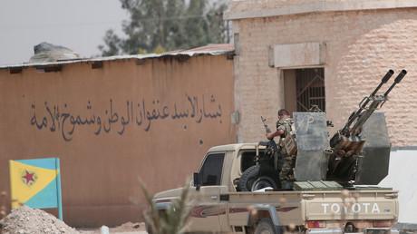 Illustration : des combattants des YPG en Syrie