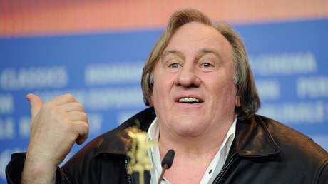 Gérard Depardieu au 66ème festival du film de Berlin, 2016, illustration