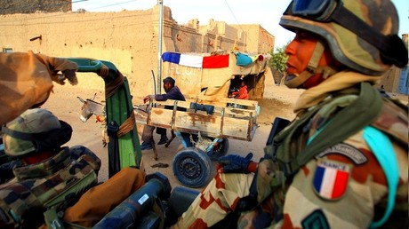Illustration : des soldats français de l'opération Barkhane au Mali