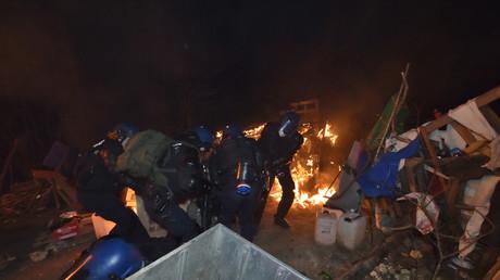 Evacuation surprise de la ZAD de Bure : 500 gendarmes ont délogé les occupants antinucléaires