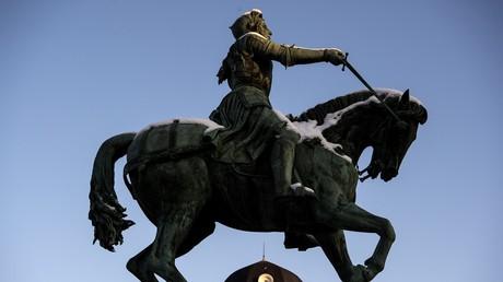 La statue de Jeanne d'Arc à Orléans (image d'illustration)