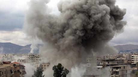 L'armée syrienne combat des groupes armés retranchés dans la Ghouta, à l'est de Damas