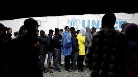 Illustration : un camp de réfugiés à Lesbos, en Grèce