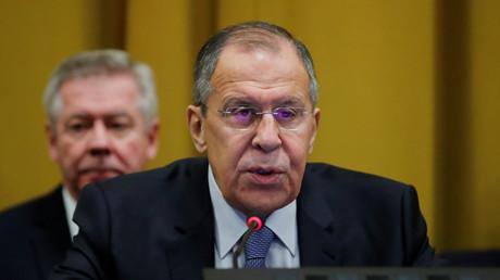 Sergueï Lavrov le 28 février à Genève