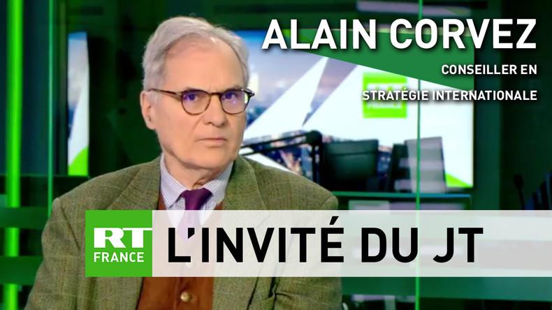 Alain Corvez : «Les pays européens ne sont pas libres, mais dans une alliance coercitive, l'OTAN»