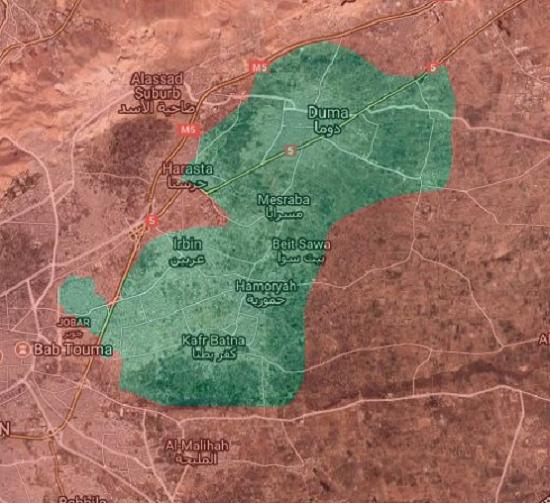 Où en est la reconquête de la Ghouta menée par l'armée syrienne ? (VIDEO)