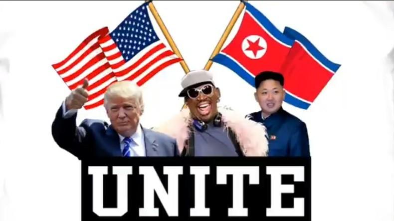 «Respect»: Dennis Rodman salue l'annonce de la réunion historique entre Donald Trump et Kim Jong-un