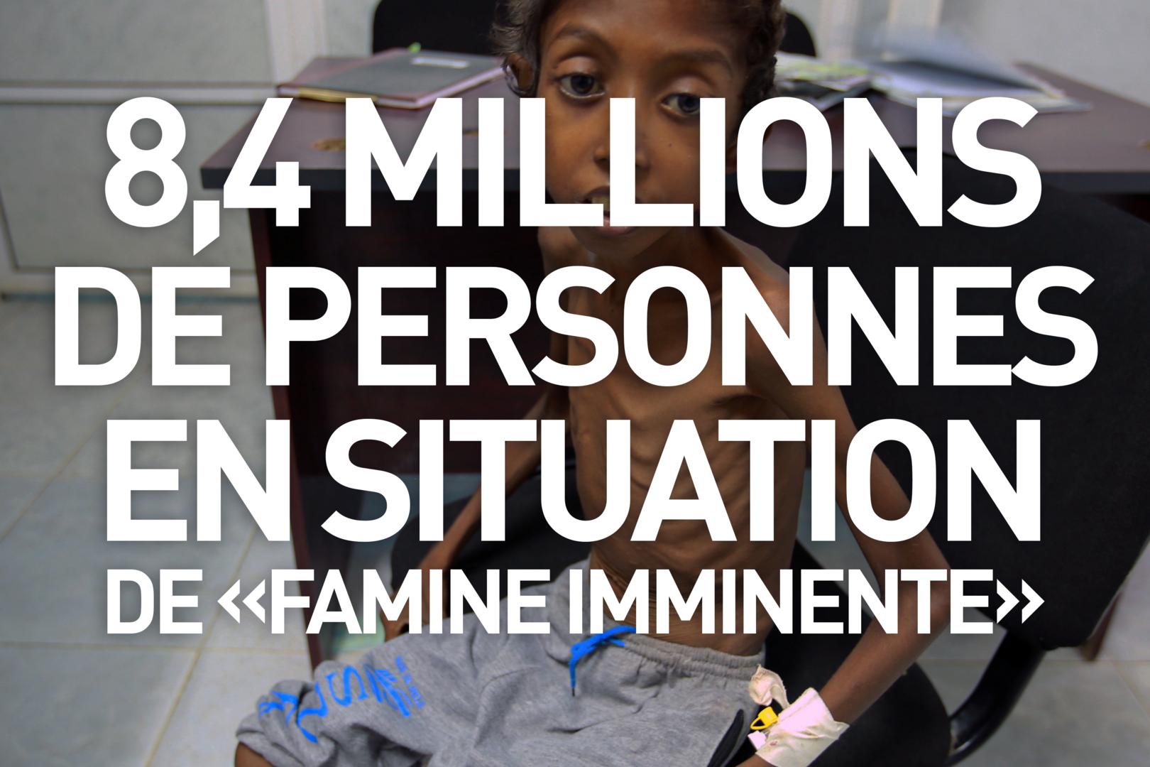 Trois ans de guerre au Yémen, «la pire crise humanitaire du monde», en trois chiffres clés