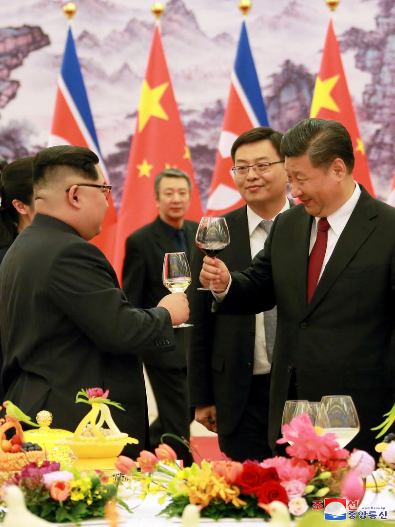 Kim Jong-un s'est rendu en Chine pour son premier voyage officiel depuis sa prise de pouvoir