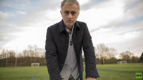 José Mourinho s'engage avec RT pour la couverture de la Coupe du monde 2018 en Russie