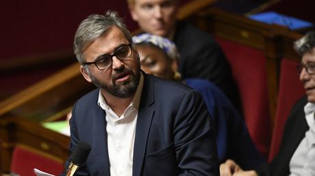 Le député de la France insoumise Alexis Corbière à l'Assemblée nationale le 16 janvier.
